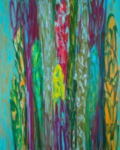 O.T. - Acryl auf Leinwand - 100 x 80 cm - 2017
