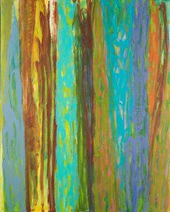 O.T. - Acryl auf Leinwand - 100 x 80 cm - 2014