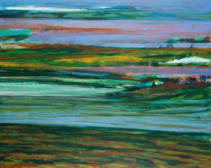 O.T. - Acryl auf Leinwand - 80 x 100 cm - 2017