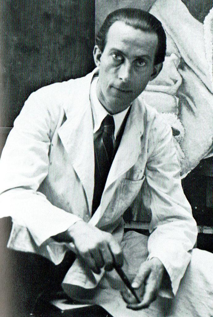 Foto Walter Koll von 1946/47, erster Präsident des Künstlerbundes